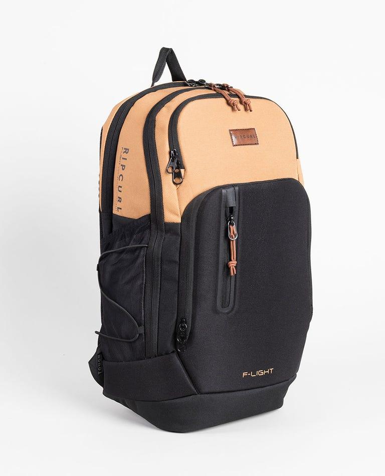 F-Light Ultra Combine Backpack in Black/Tan