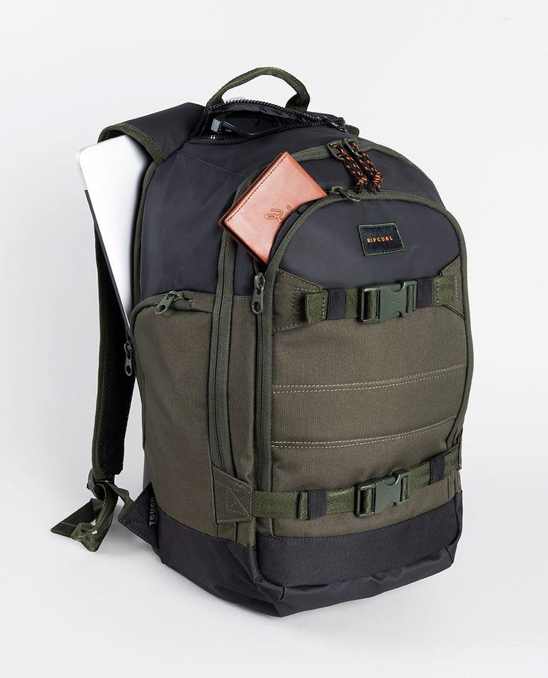 Posse 2.0 hydro Backpack in Dark Olive