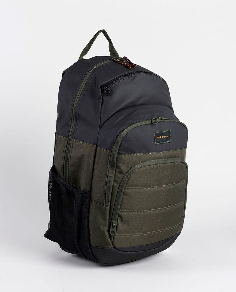 Overtime Hydro Backpack in Dark Olive