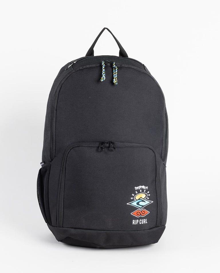 Evo Search Logo Backpack in Black