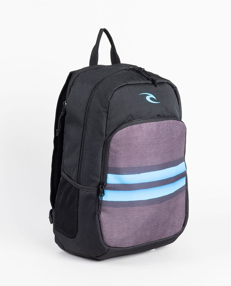 Ozone Mick Fanning Backpack in Black/Blue