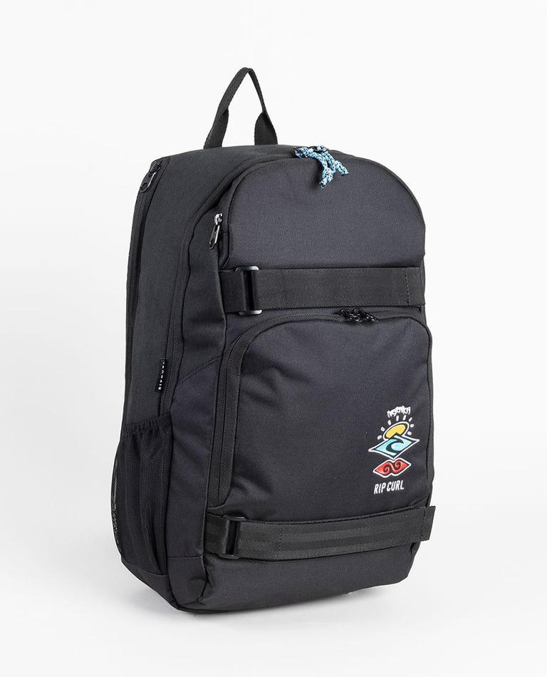 Fader Search Logo Backpack in Black