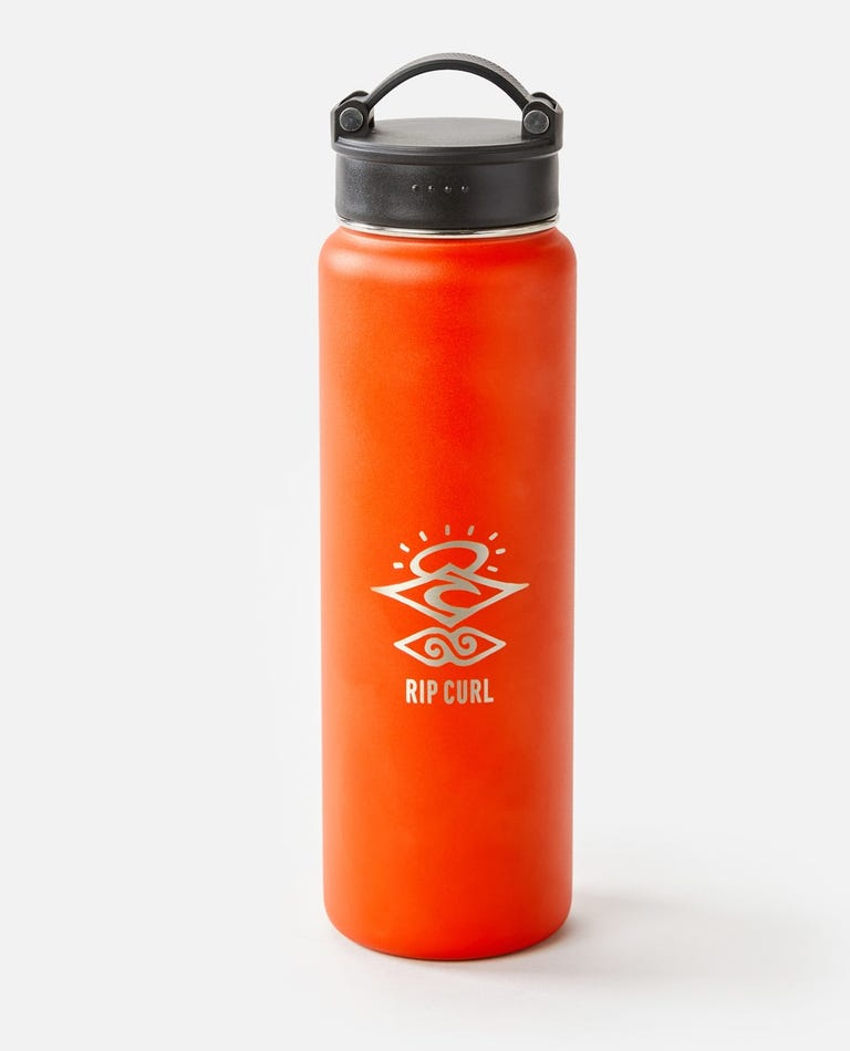 700ml Search Stainless Steel Drink Bottle  in Red