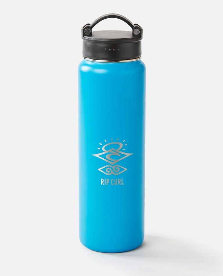 700ml Search Stainless Steel Drink Bottle  in Light Blue
