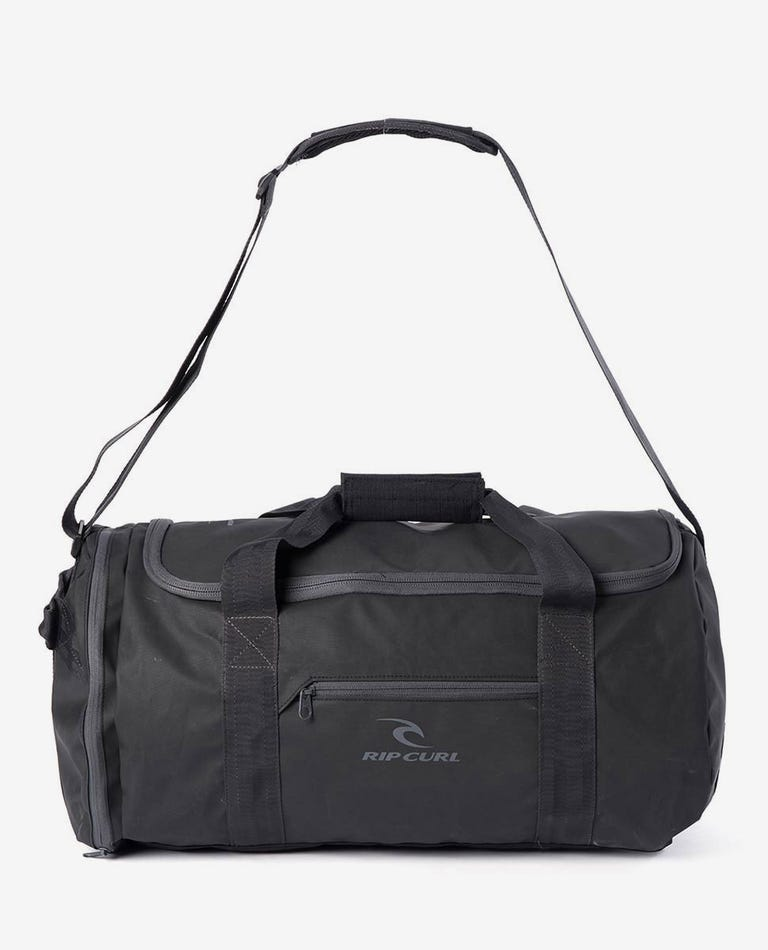 Large Packable Duffle Travel Bag in Black