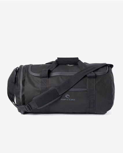 Large Packable Duffle Travel Bag in Black