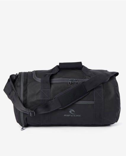 Medium Packable Duffle Travel Bag in Black