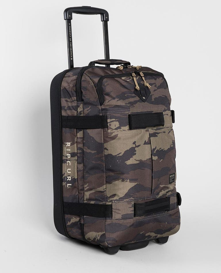 F-Light Transit Camo Travel Bag in Khaki