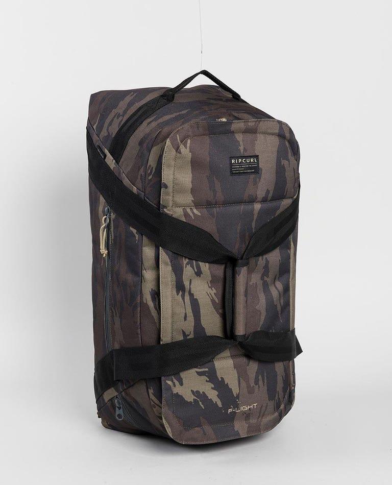F-Light Duffle Camo Travel Bag in Khaki