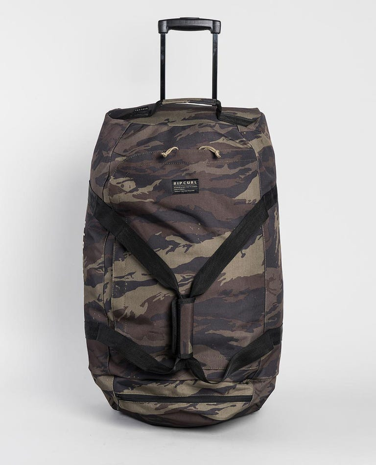 Jupiter Camo Travel Bag in Khaki