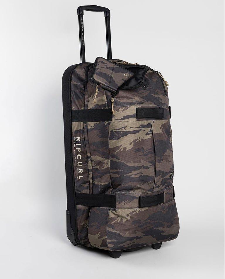 F-Light Global Camo Travel Bag in Khaki