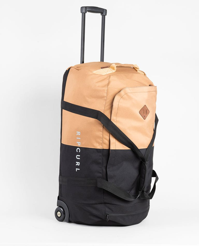 Jupiter Combine Travel Bag in Black/Tan