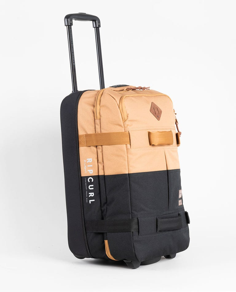 F-Light Transit Combine Travel Bag in Black/Tan