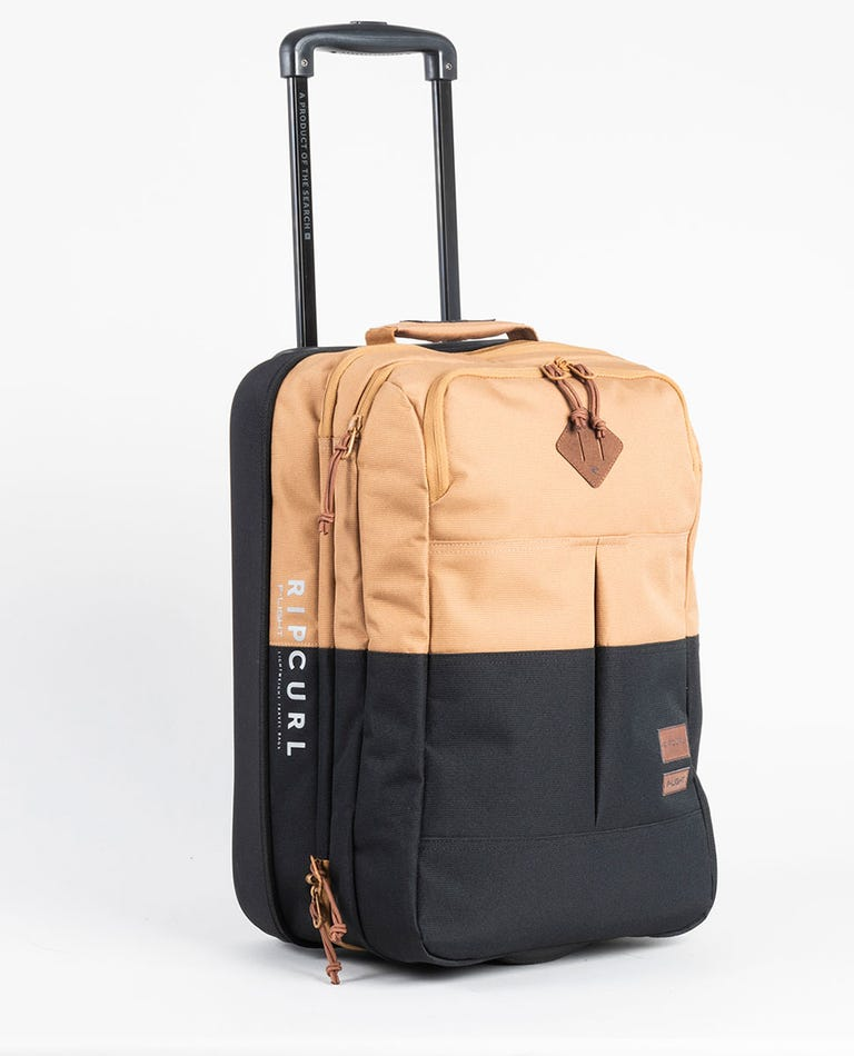 F-Light Cabin Combine Travel Bag in Black/Tan