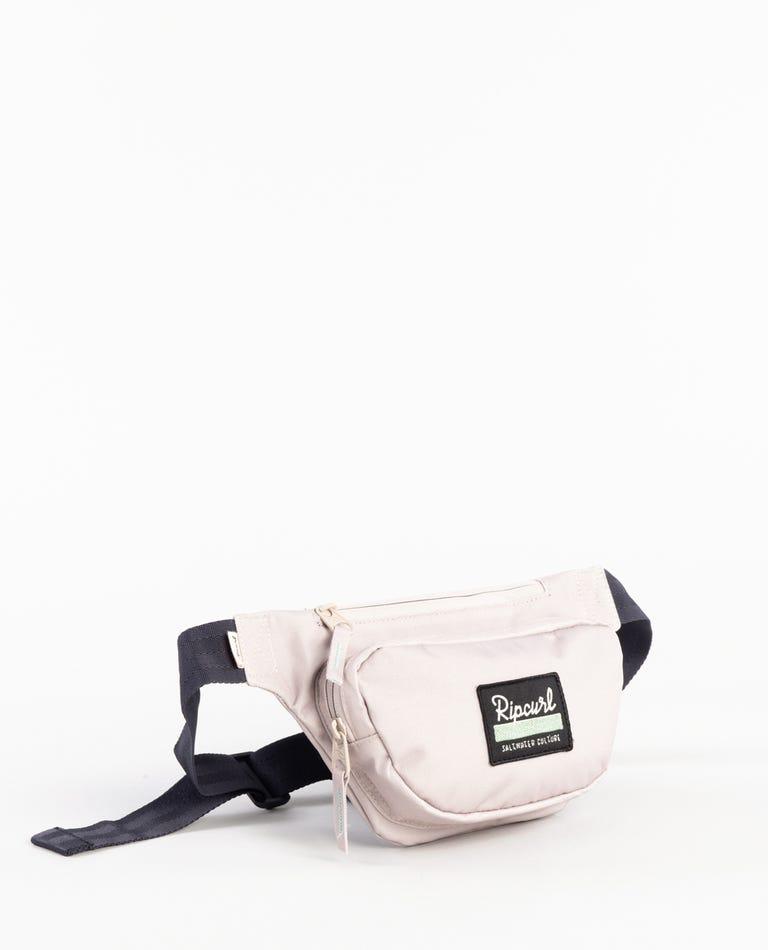 Saltwater Culture Small Waistbag in Light Khaki