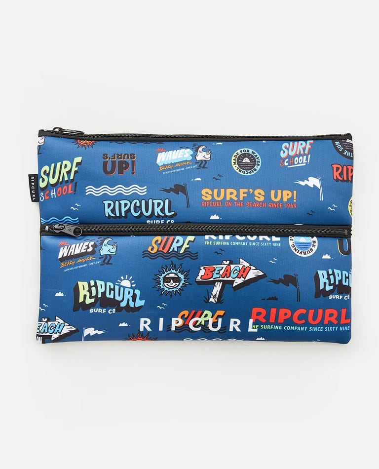 Extra Large Pencil Case in Navy