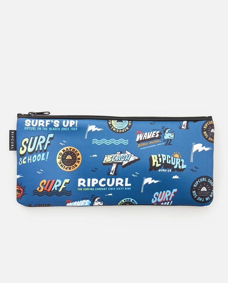 Small Pencil Case in Navy