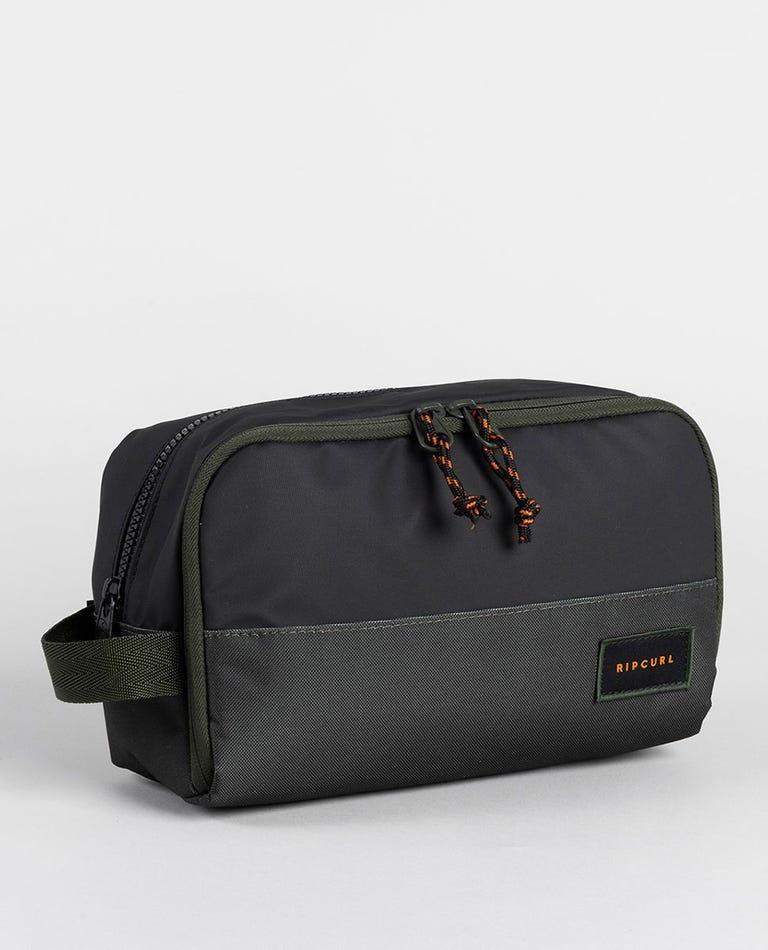 Groom Hydro Toiletry Bag in Dark Olive