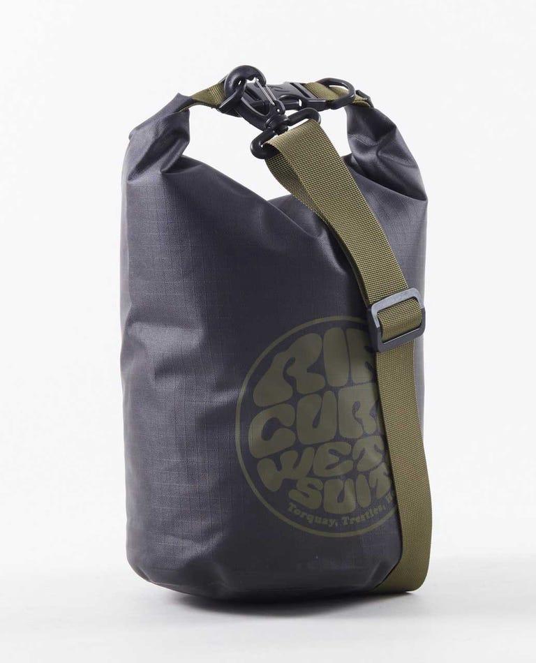 Surf Series 5L Barrel Bag in Black