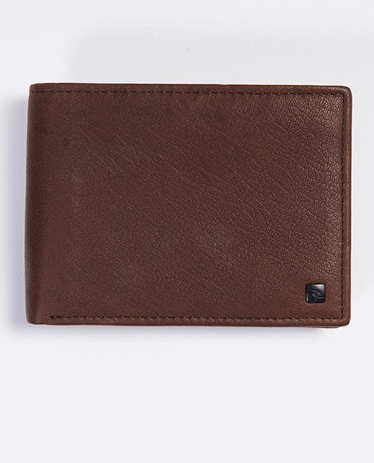 K-Roo RFID All Day Leather Wallet in Brown