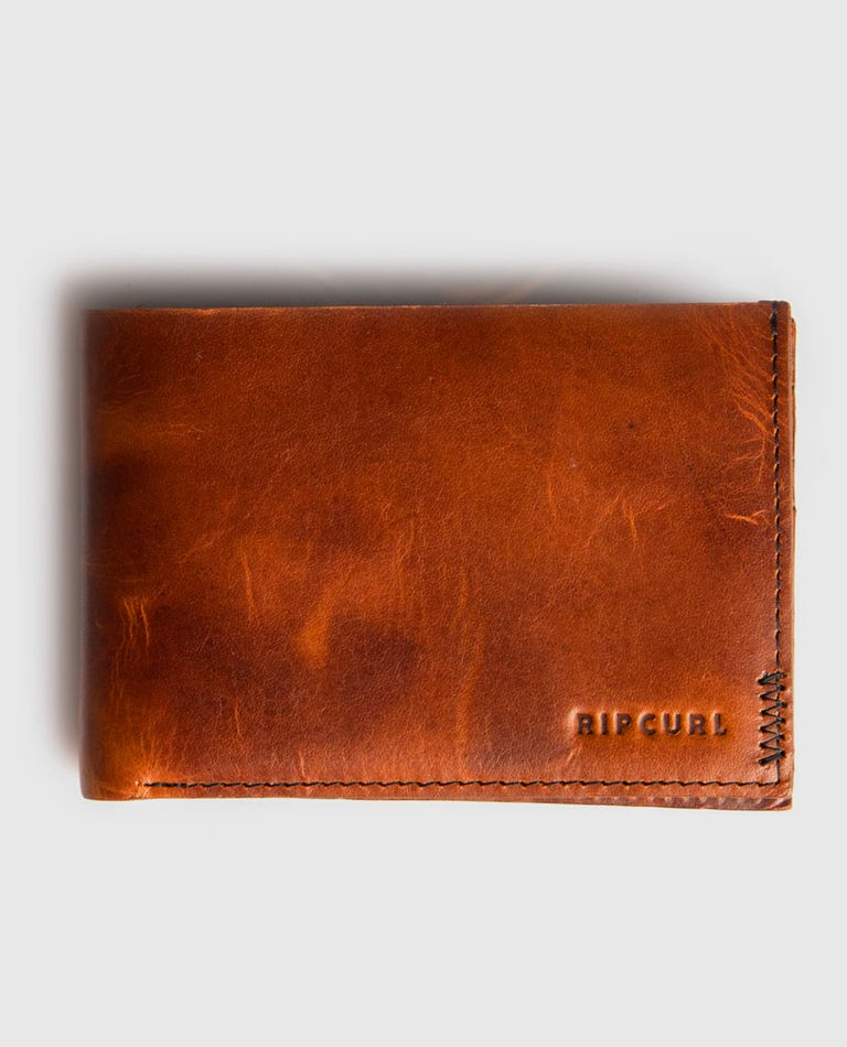 Handcrafted Slim Wallet in Brown