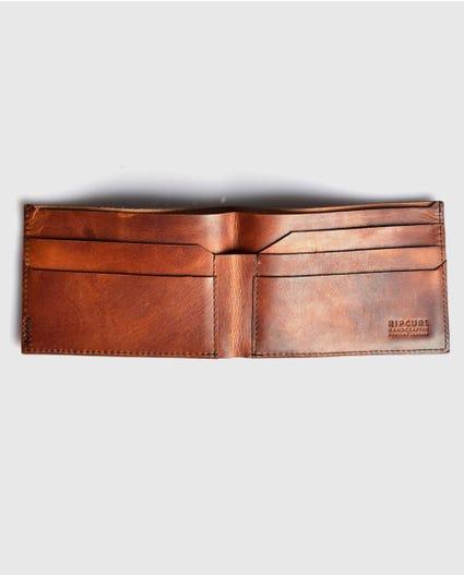 Handcrafted Slim Wallet in Brown