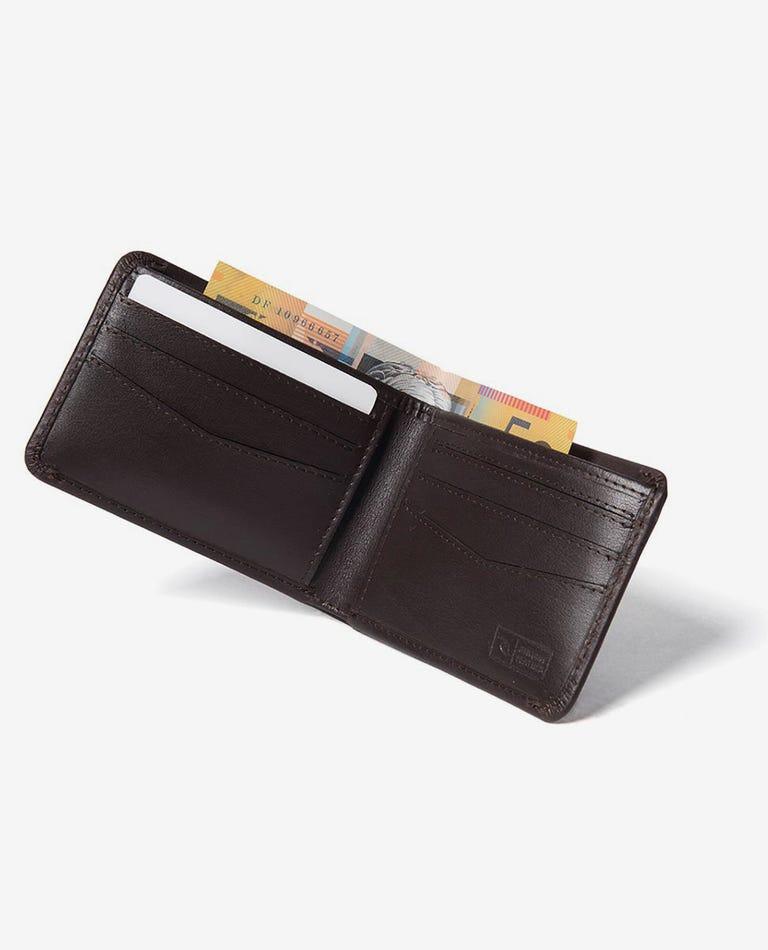 Supply RFID Slim Wallet in Brown