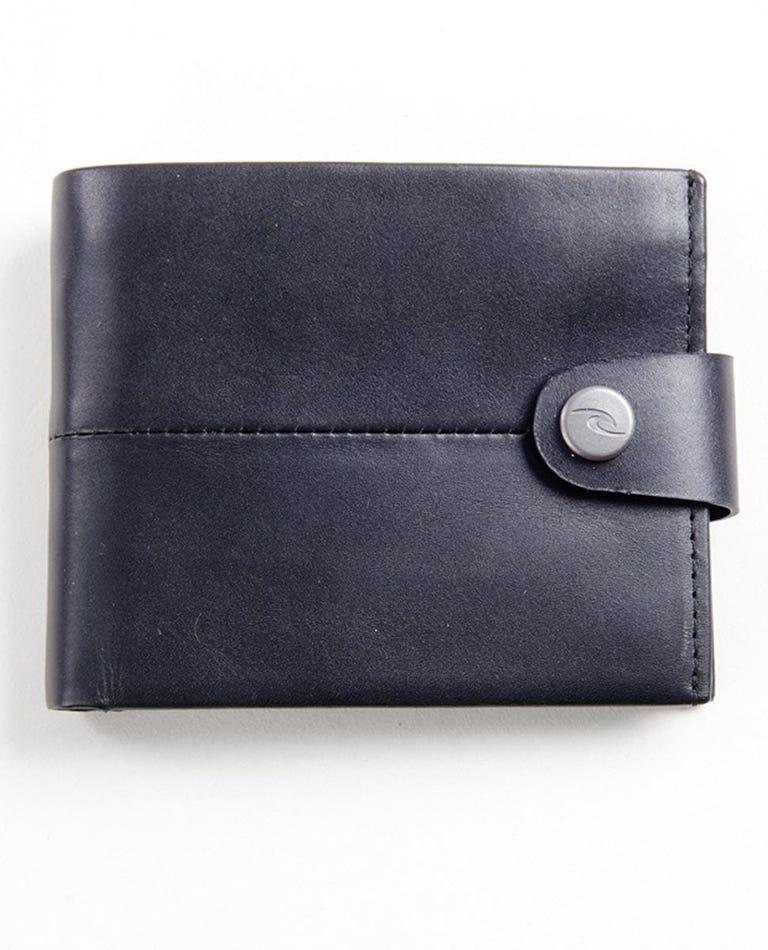 Snap Clip RFID 2 In 1 Wallet in Black