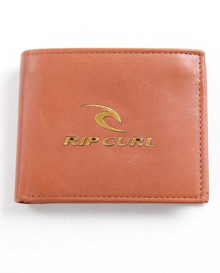 Corpowatu RFID 2 In 1 Wallet in Brown