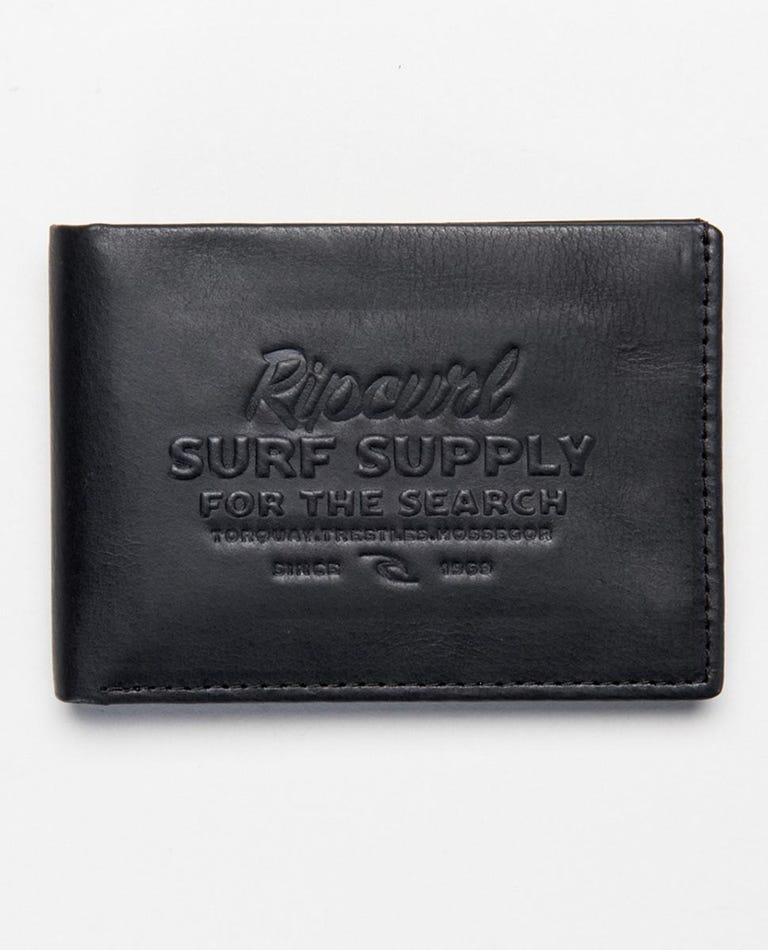 Surf Supply RFID Slim Wallet in Black