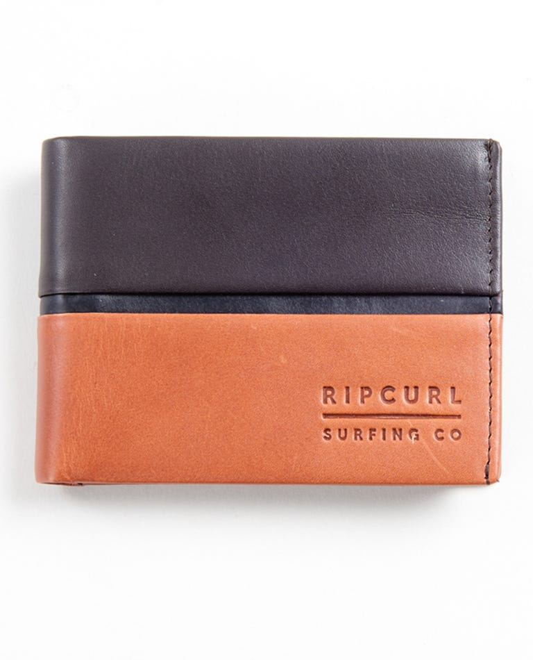 Stringer RFID All Day Wallet in Brown