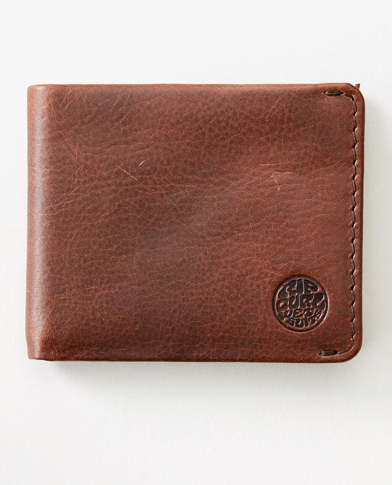 Texas RFID All Day Wallet in Brown
