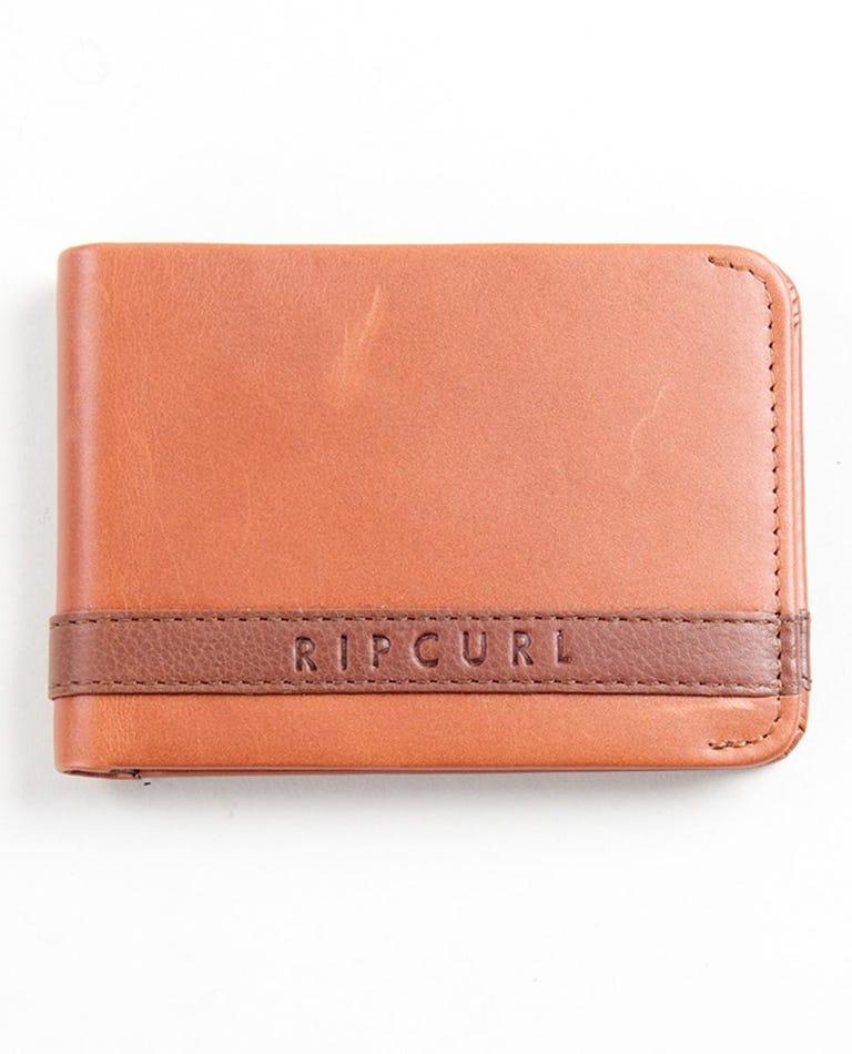 Onset RFID Slim Wallet in Brown