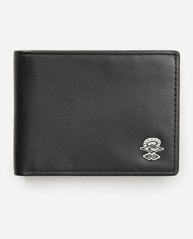 Icons RFID All Day Wallet in Black