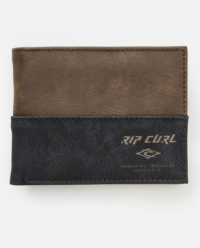 Archie RFID PU All Day Wallet in Brown