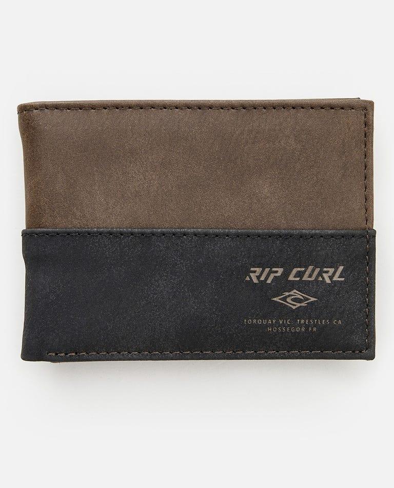 Archie RFID PU Slim Wallet in Brown