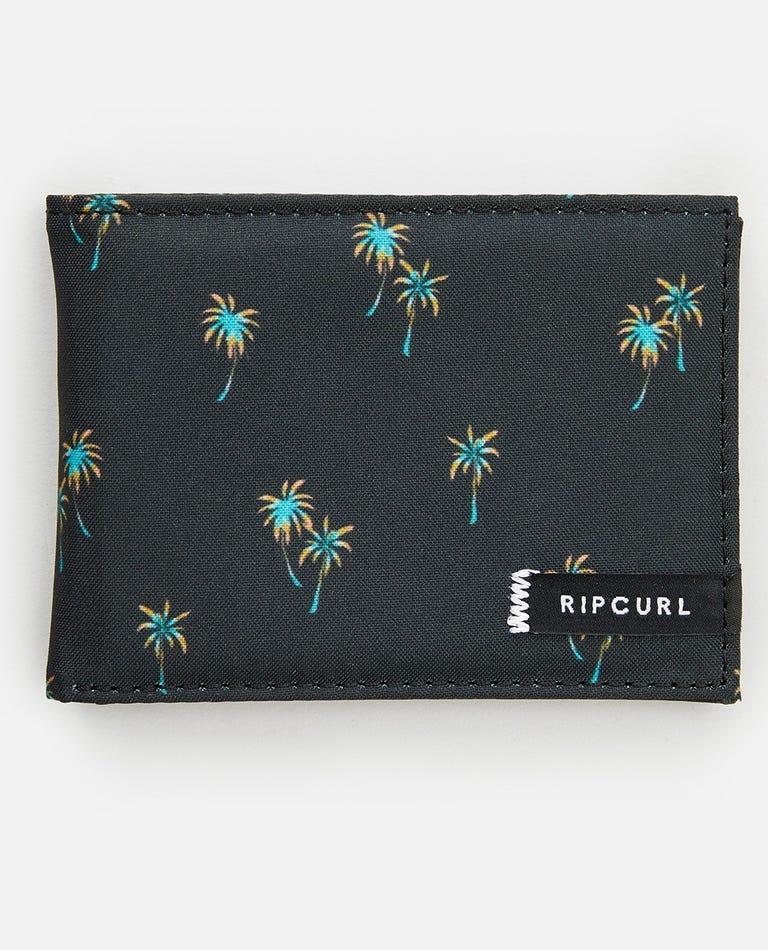 Combo PU Slim Wallet in Black