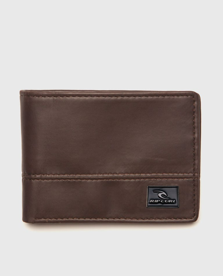 Ripperblock All Day Zf Wallet in Brown
