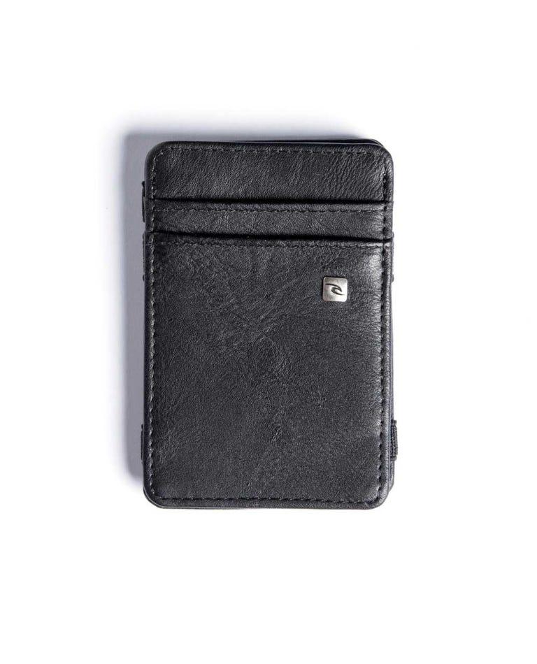 PU Magic Wallet in Black