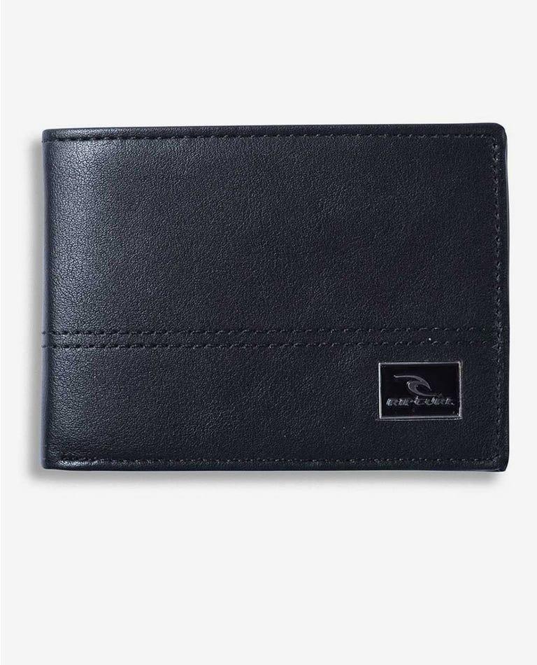 Corpawatu Icon Slim Wallet in Black