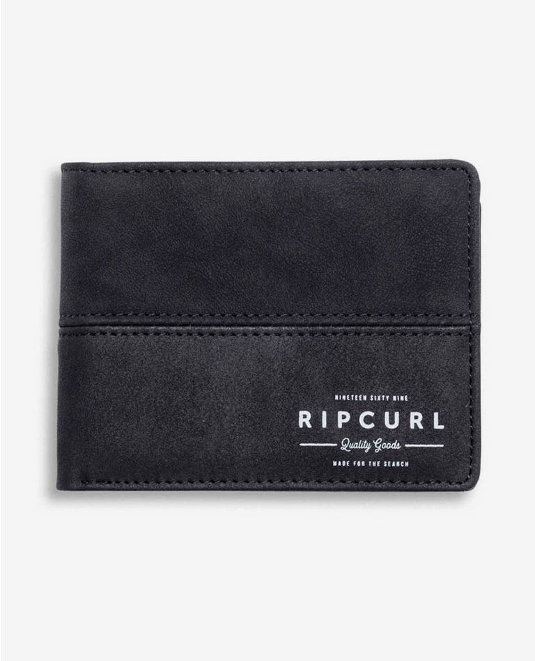 Arch RFID PU All Day Wallet in Black