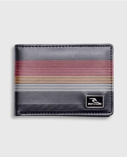 MF Pu Slim Wallet in Red