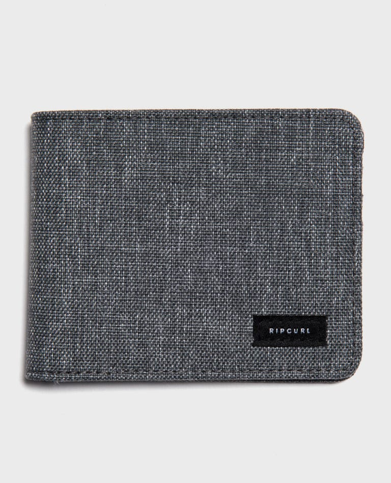 Cordura RFID PU All Day Wallet  in Grey