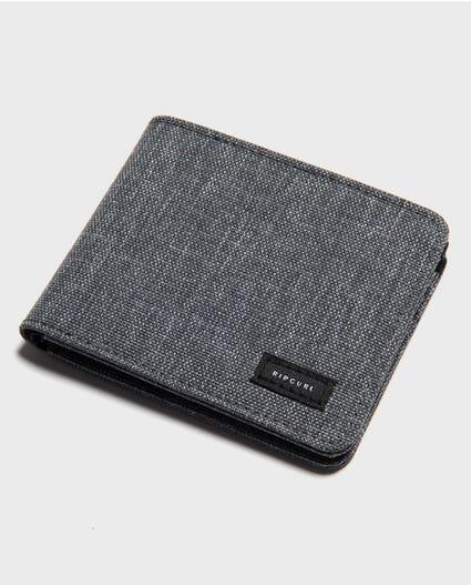 Cordura RFID PU All Day Wallet  in Grey