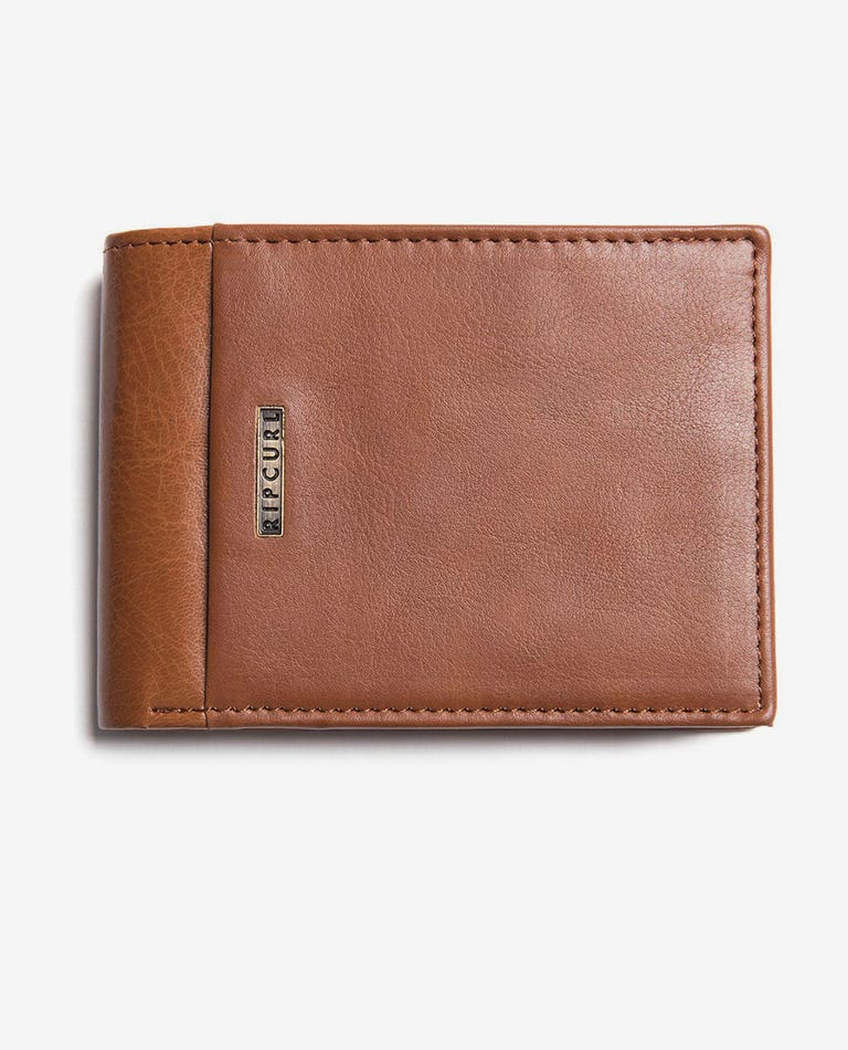 Stacka RFID PU All Day Wallet in Brown
