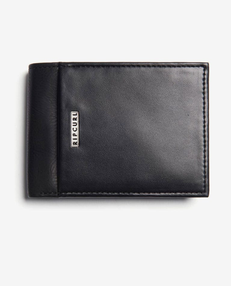 Stacka RFID PU All Day Wallet in Black