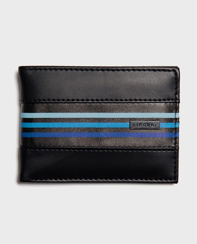 Flow PU Slim Wallet in Blue