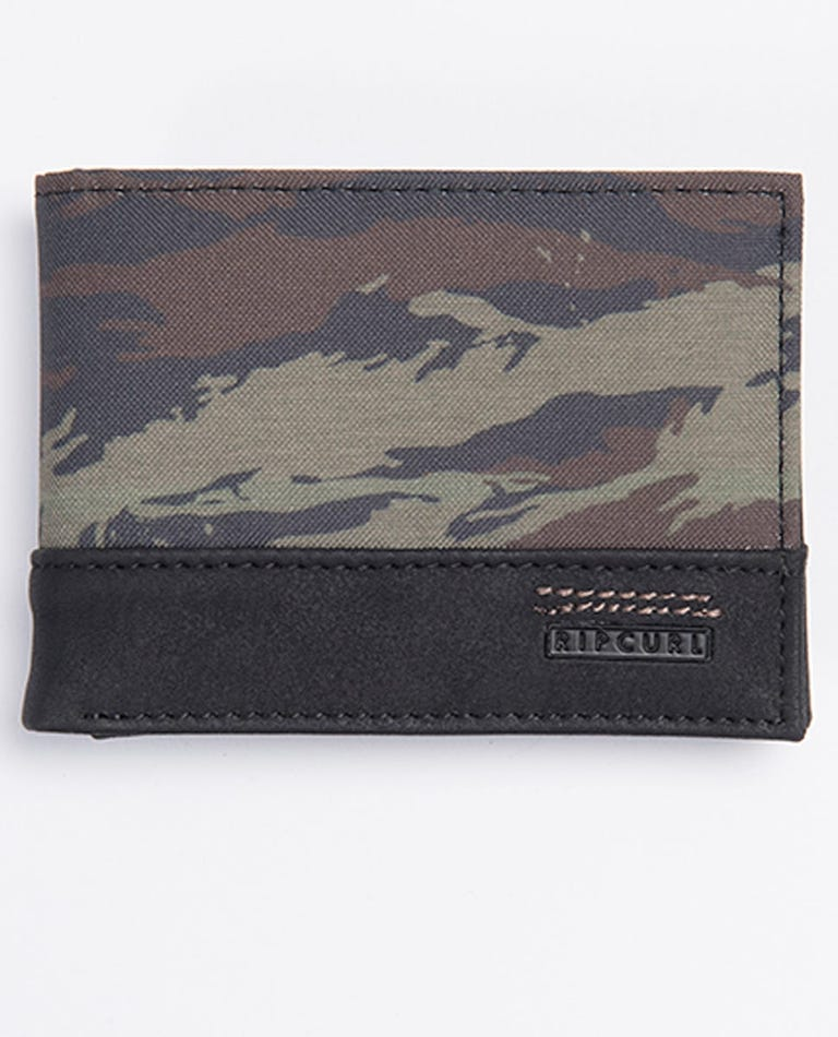 Raptured PU Slim Wallet in Khaki