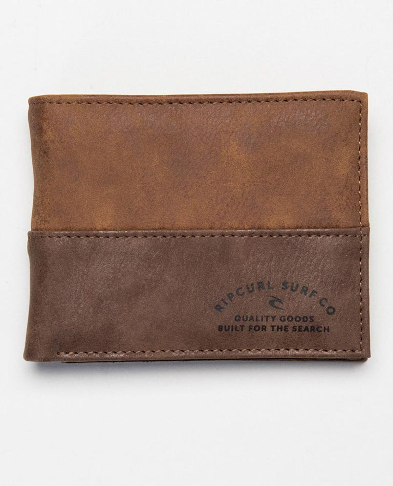 Archer RFID All Day Wallet in Brown