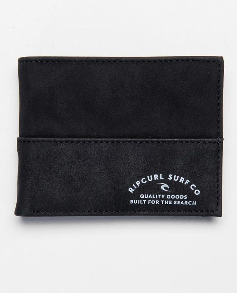 Archer RFID All Day Wallet in Black